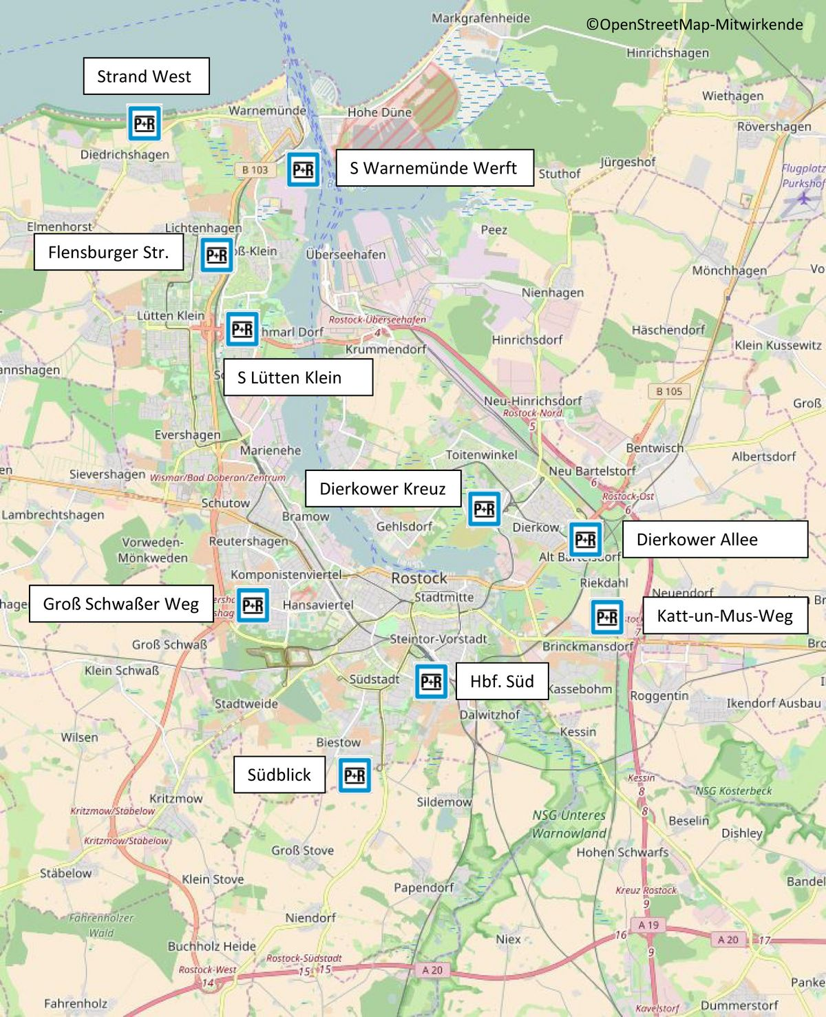 Rostocker Strassenbahn Ag Park Ride